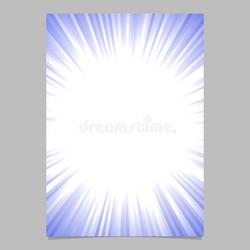 download geometric starburst card template gradient vector brochure background design stock vector illustration of