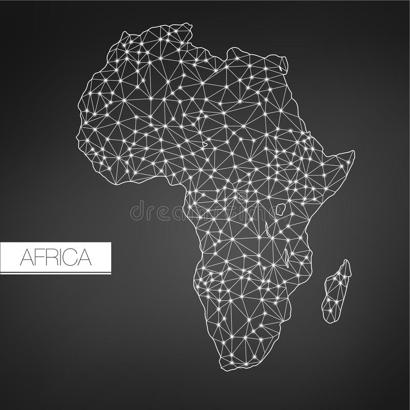 Download Geometric Africa Madagascar Continent Dark Version Clean Design Easy To Customize Template