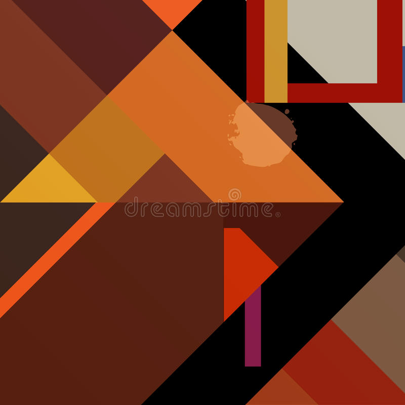 Geometric Background, Royalty Free Stock Photography