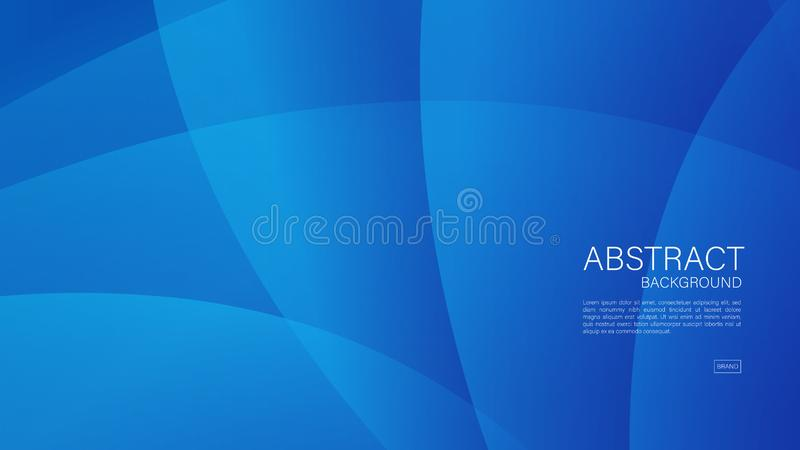 Blue abstract background, wave, Geometric vector, graphic, Minimal Texture, cover design, flyer template, banner, web page, book. Cover vector illustration