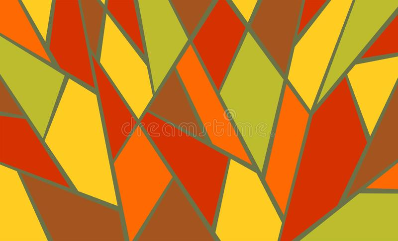 Geometric background, bright colored shapes, mosaic for creating royalty free stock images