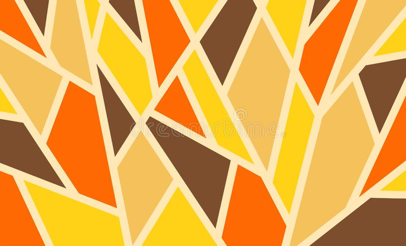 Geometric background, bright colored shapes, mosaic for creating stock photography