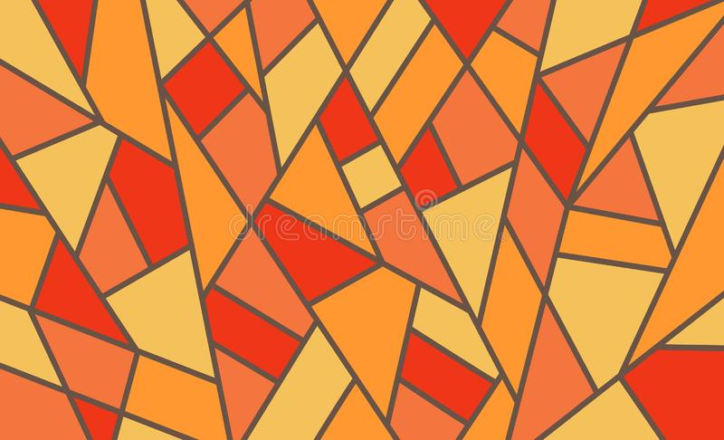 Geometric background, bright colored shapes, mosaic for creating royalty free stock photo