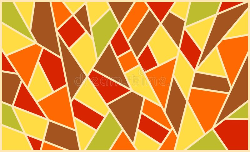 Geometric background, bright colored shapes, mosaic for creating royalty free stock photos