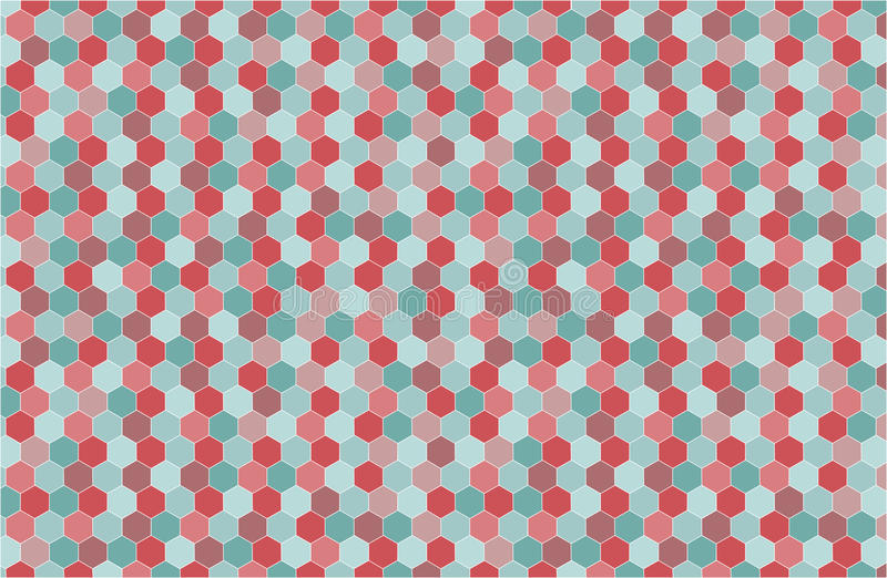 Geometric Background In Hipster Style Stock Vector