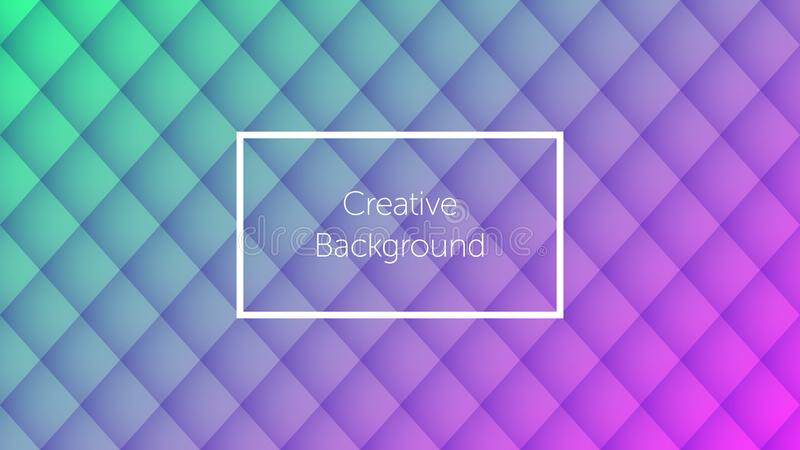 Geometric background with rhombic pattern. Geometric background with colorful rhombic pattern. Creative background for landing page, banner and cover, poster and royalty free illustration