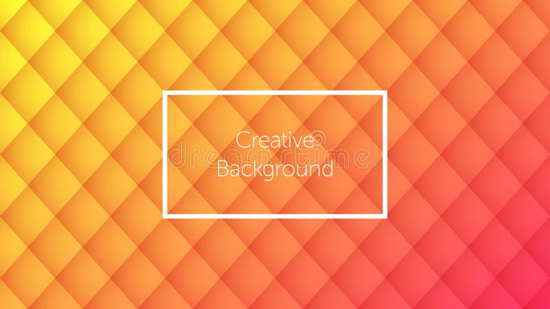 Geometric background with rhombic pattern. Geometric background with colorful rhombic pattern. Creative background for landing page, banner and cover, poster and vector illustration
