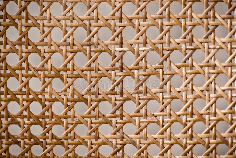 Geometric basketwork seamless pattern stylish texture with repeating straight lines background.  royalty free stock photography