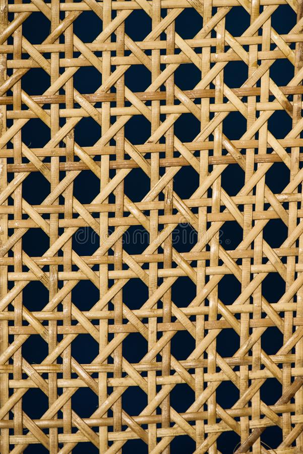 Geometric basketwork seamless pattern stylish texture with repeating straight lines background.  stock photography
