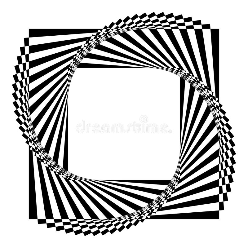 Geometric Black And White Background Royalty Free Stock Image
