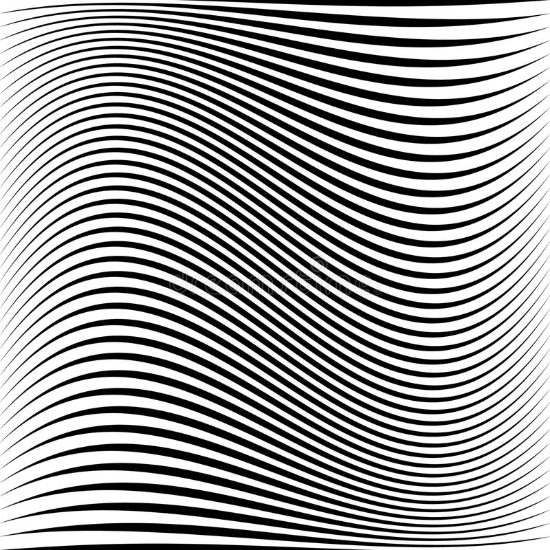 Geometric black and white texture. Mesh, grid pattern of lines. Royalty free illustration royalty free illustration