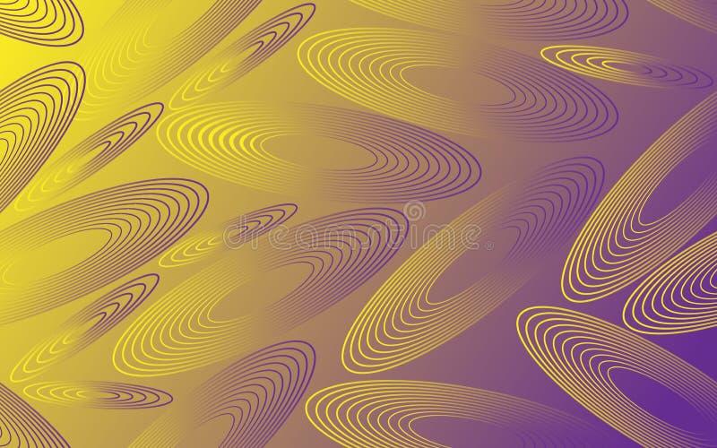 Geometric Circles Pattern Fabric Texture Print Graphic