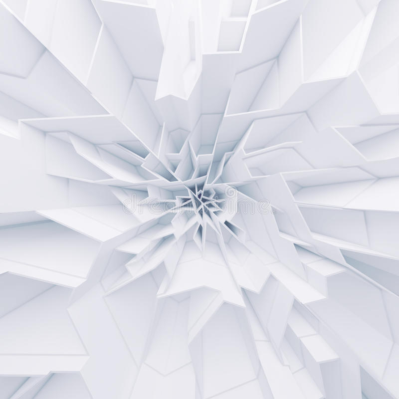 Geometric color abstract polygons wallpaper royalty free stock photo