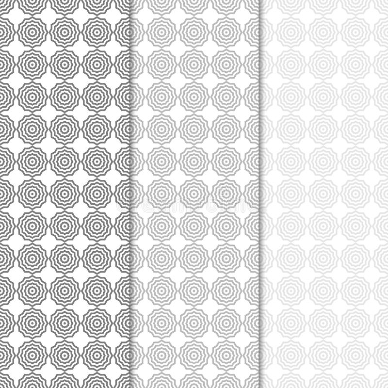 Geometric colored vertical seamless pattern vector illustration