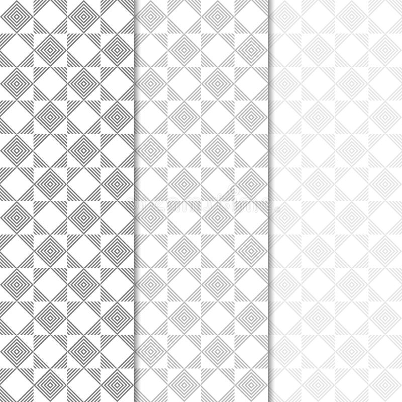 Geometric colored vertical seamless pattern stock illustration