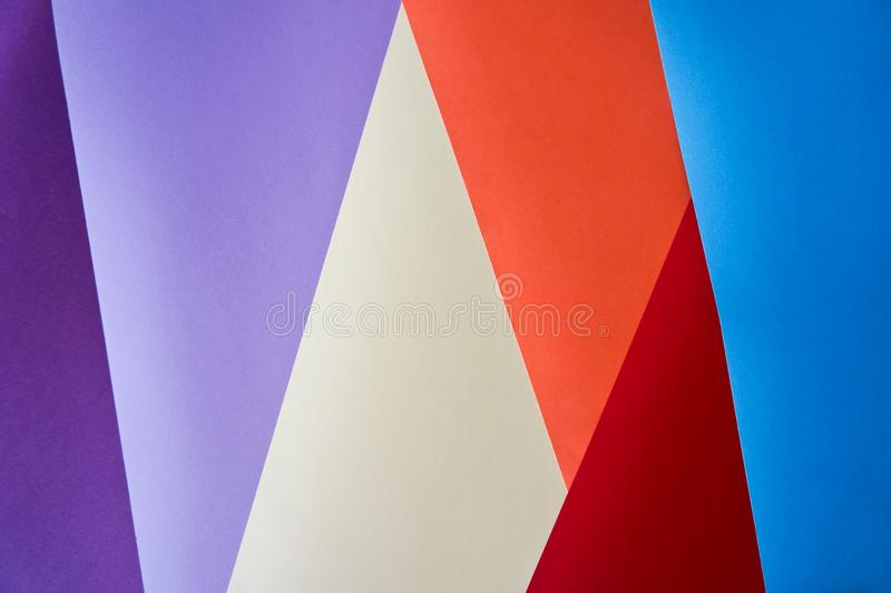 Geometric colorful background royalty free stock image