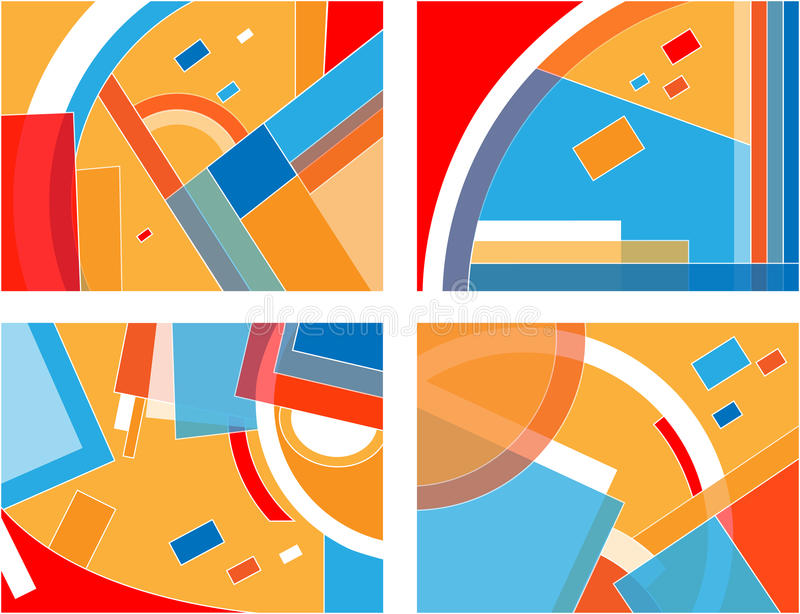Download Geometric Compositions .jpg Stock Photos - Image: 15166773