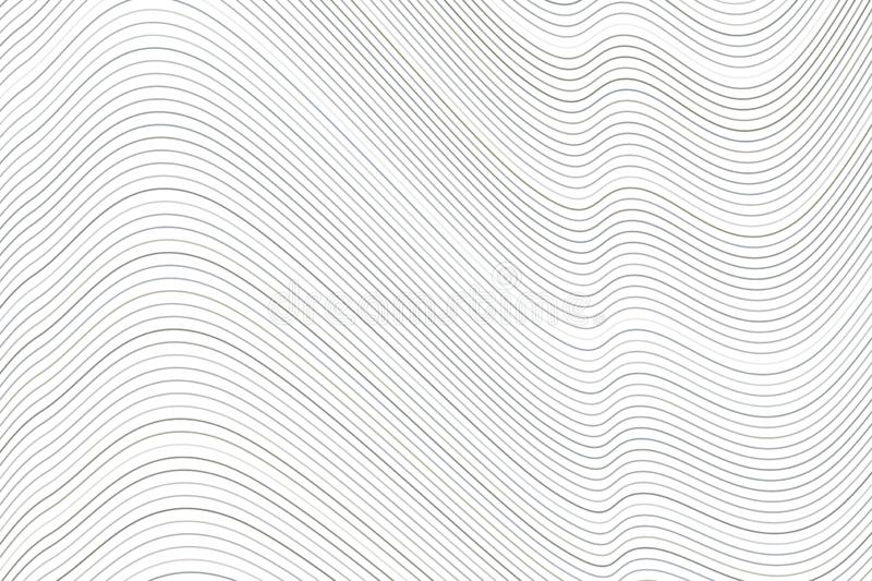 Geometric Conceptual background line, curve & wave pattern for design. Backdrop, graphic, shape & art. vector illustration
