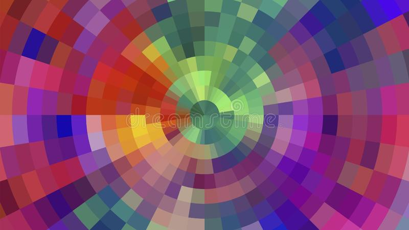 Geometric design, Mosaic, Pattern for busines ad, booklets, leaflets. Geometric design, Mosaic, abstract background Mosaic, colorful futuristic background royalty free illustration