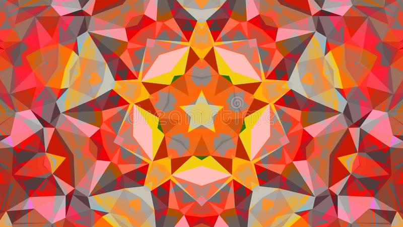 Geometric design, Mosaic, Pattern for busines ad, booklets, leaflets. Geometric design, Mosaic, abstract background Mosaic, colorful futuristic background stock illustration
