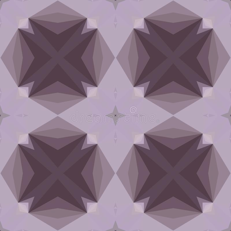 Geometric design, Mosaic of a vector kaleidoscope, Pattern for busines ad, booklets, leaflets. Geometric design, Mosaic of a vector kaleidoscope, abstract royalty free illustration