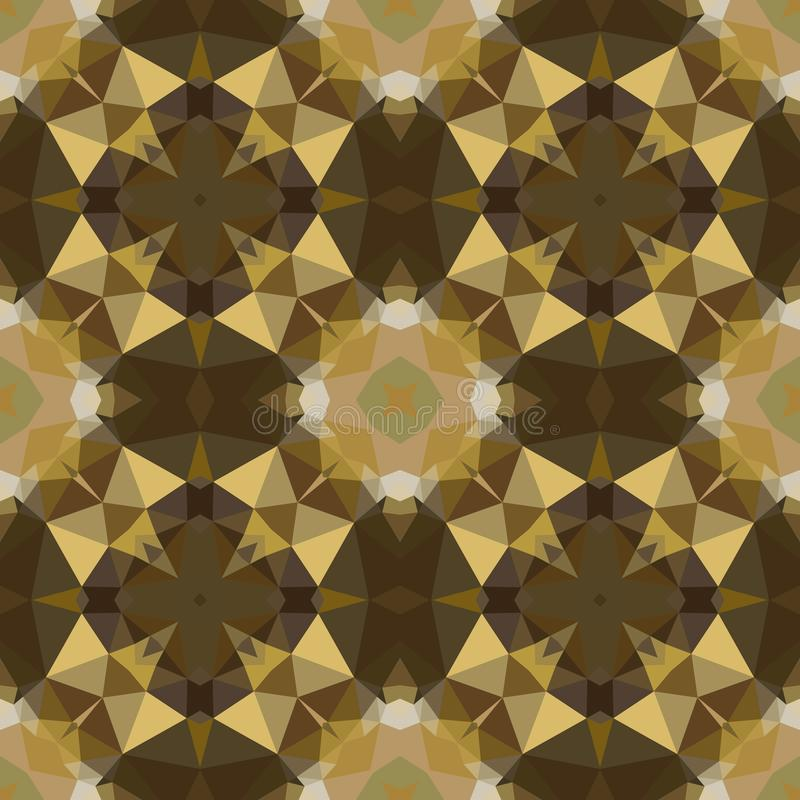Geometric design, Mosaic of a vector kaleidoscope, Pattern for busines ad, booklets, leaflets. Geometric design, Mosaic of a vector kaleidoscope, abstract stock illustration