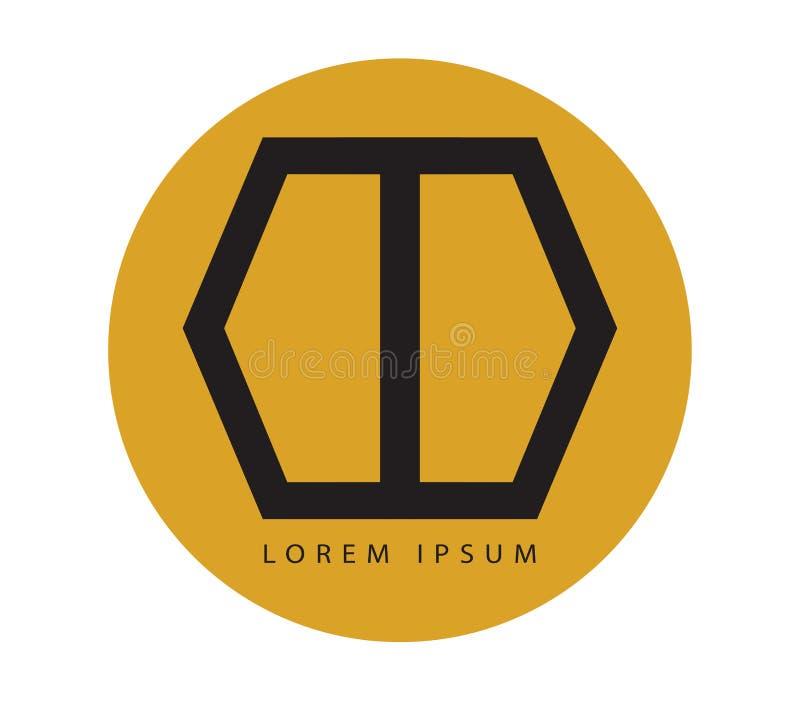 Download Geometric Door Logo Design stock illustration. Image of corporate - 83705548