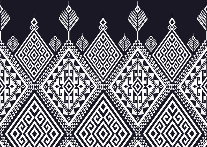 Geometric Ethnic pattern stock illustration