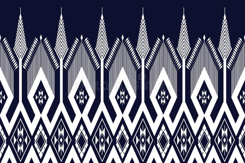 Geometric Ethnic pattern. Design for background or wallpaper vector illustration