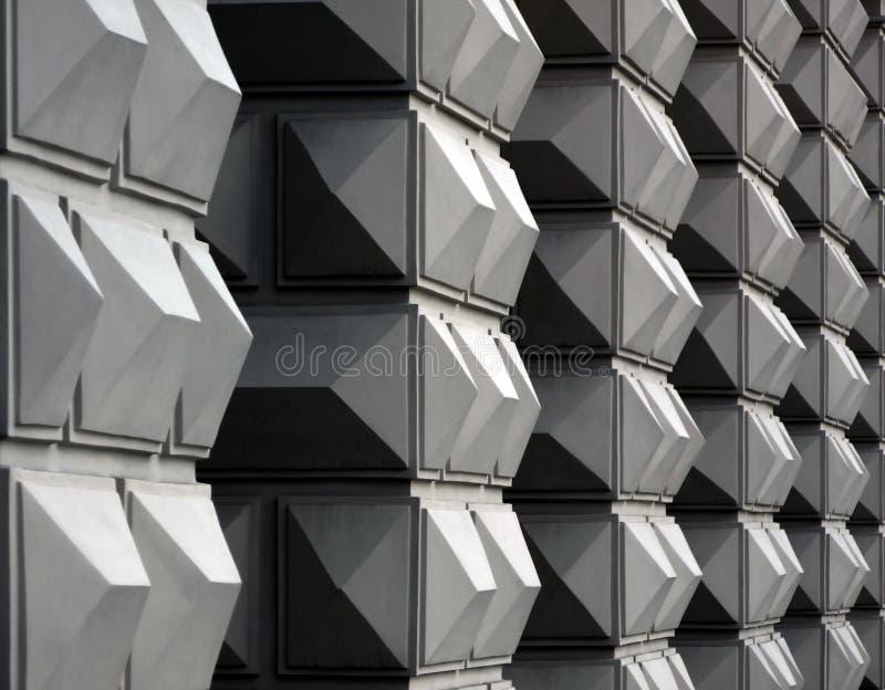 Geometric facade royalty free stock photo