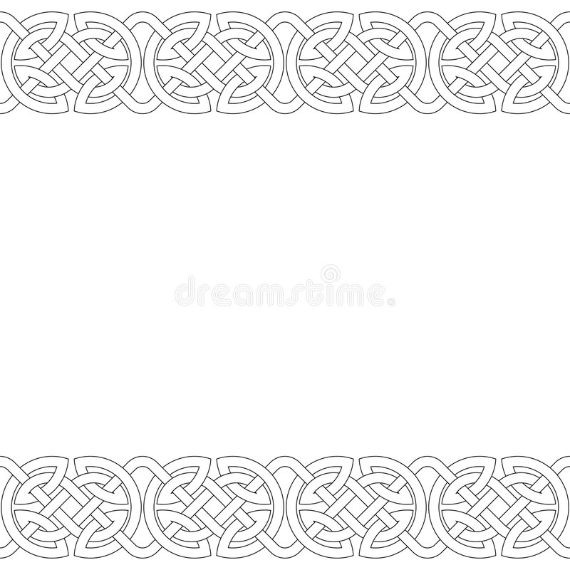 Geometric Frame (vector) Royalty Free Stock Images