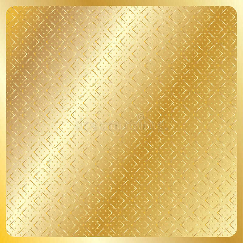 Download Geometric Gold Royal Pattern Stock Vector - Image: 66238469