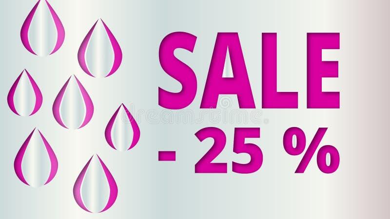 Geometric gray white purple background Sale for website decoration, banner, leaflet, booklet. royalty free illustration