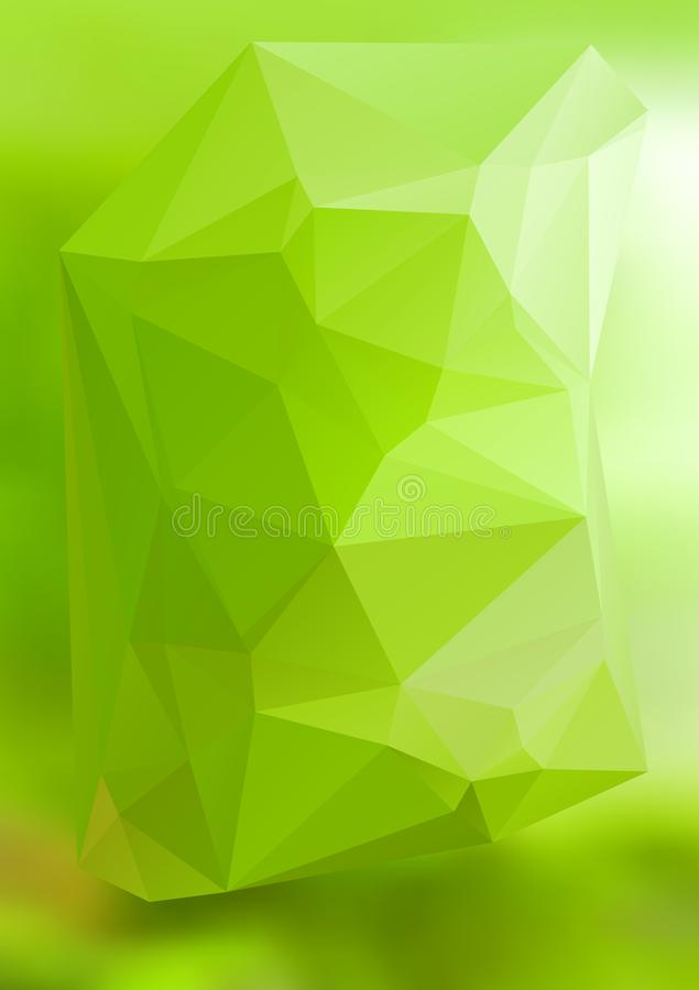 Modern abstract background triangles 3d effect glowing light41 vector illustration
