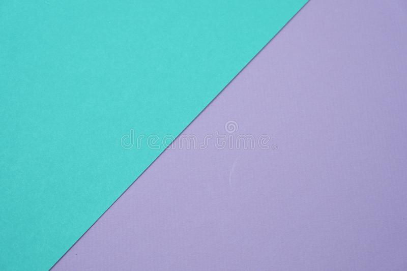 Geometric with green mint and purple texture background royalty free stock image