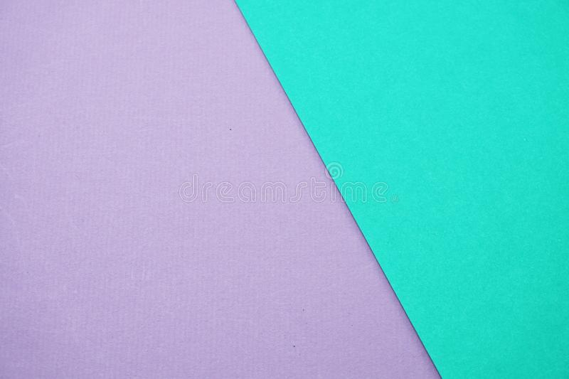 Geometric with green mint and purple texture background royalty free stock photos