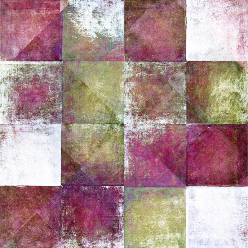 Free Geometric Grunge Background Royalty Free Stock Images - 19098329
