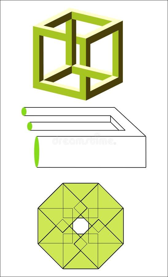 Download Geometric Illusion Royalty Free Stock Photos - Image: 5242258