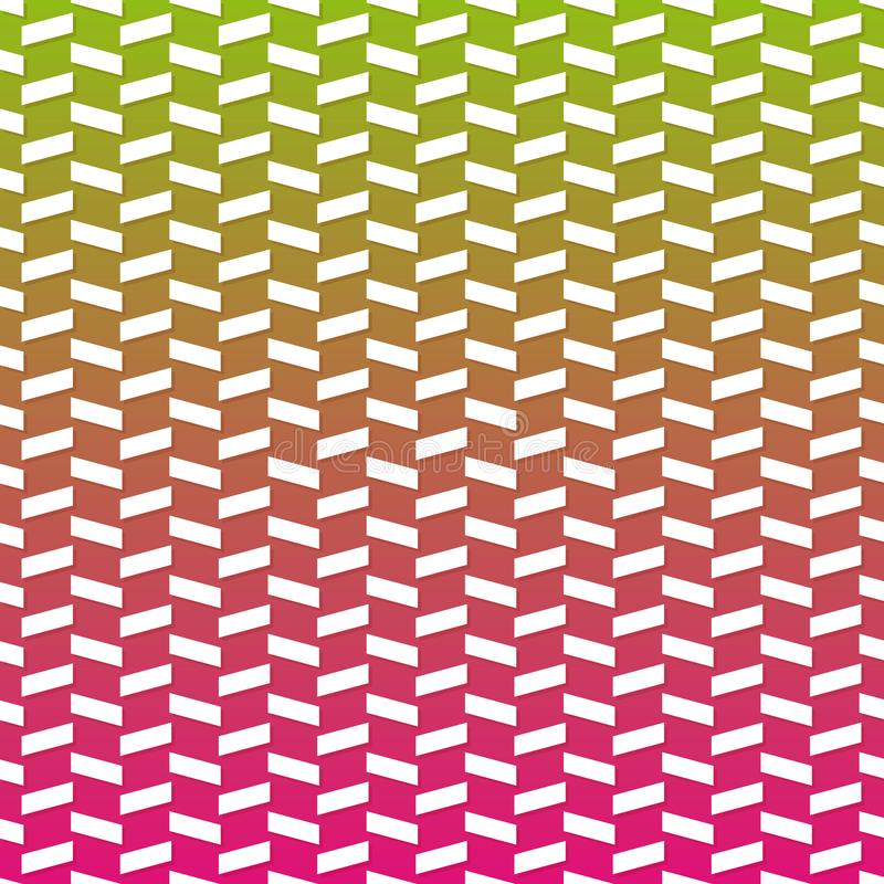 Geometric Line Gradient Background. Modern Abstract Pattern Eps10 Vector. royalty free illustration