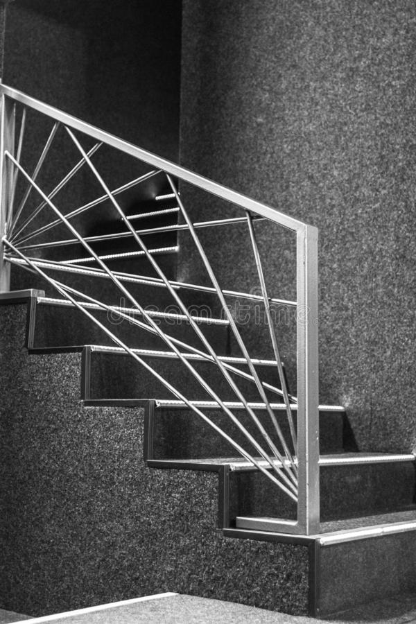 Geometric Stairs Geometric Staircase Melbourne: Art Nouveau Staircase Stock Image. Image Of Spiral