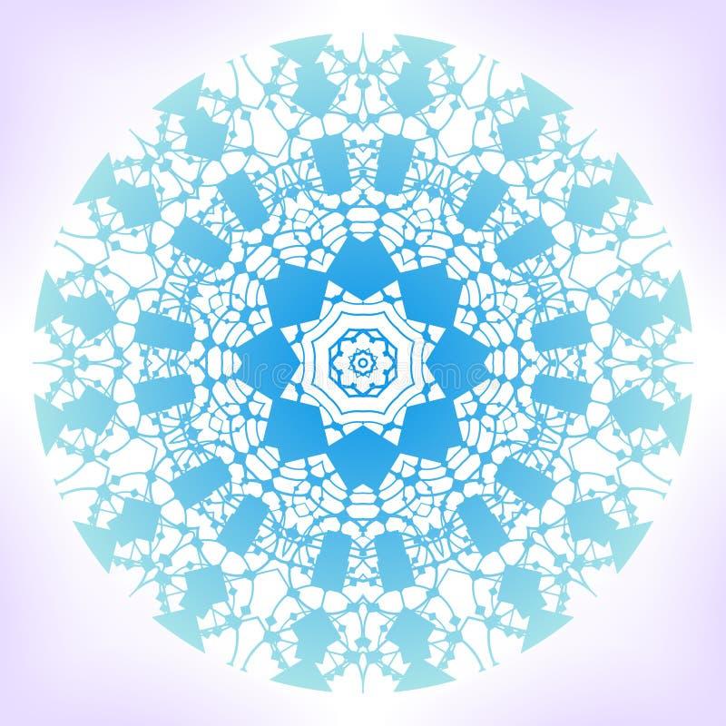 Geometric Mandala. Stock Vector