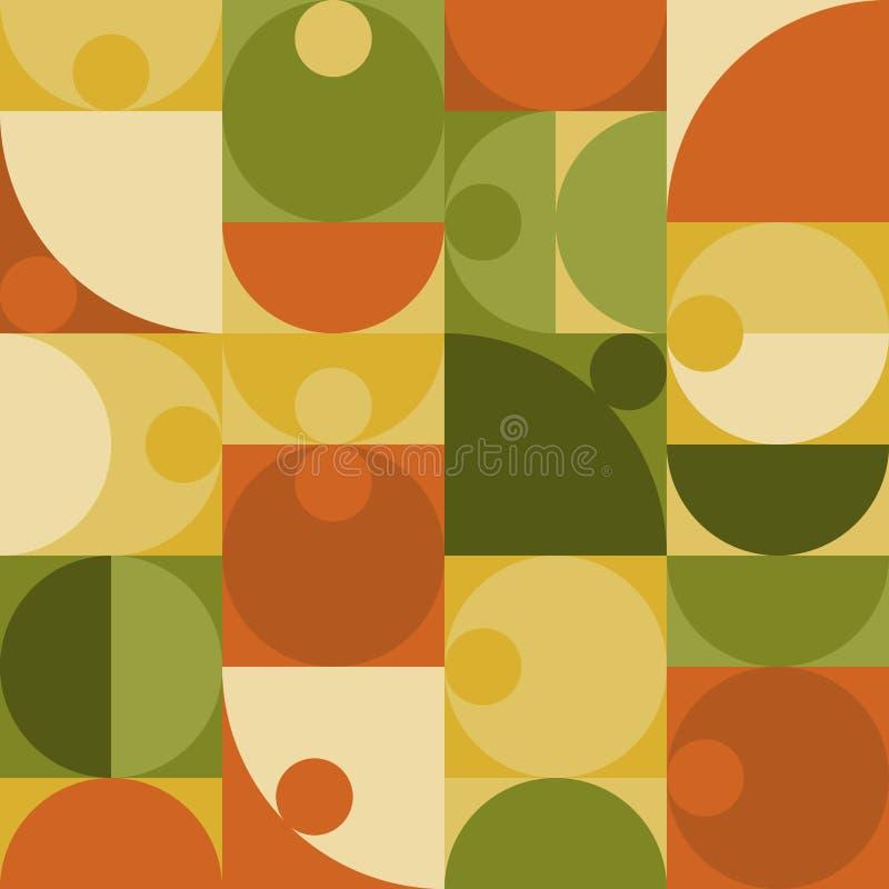 Geometric minimalistic vector seamless pattern royalty free illustration