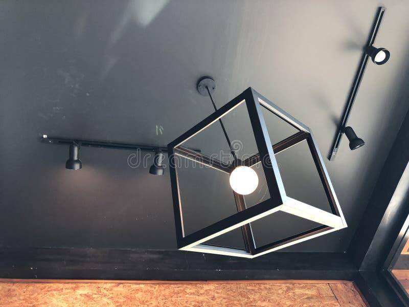 Geometric Modern lamp stock photo