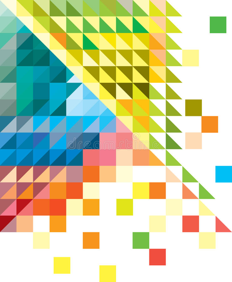 Download Geometric Multicolored Background Stock Vector - Image: 31327320