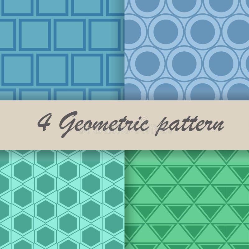 4 Geometric pattern stock photo