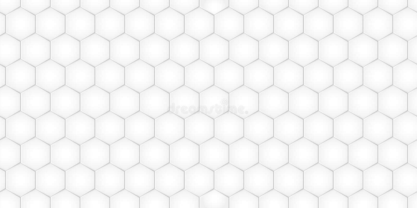Geometric pattern with hexagons, monochrome tile. Honeycomb background. Vector. Illustration vector illustration