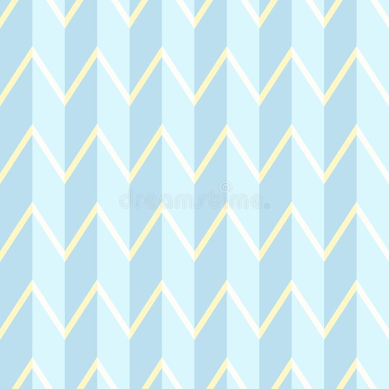Geometric pattern in light blue tones. Seamless geometric pattern, texture. royalty free illustration