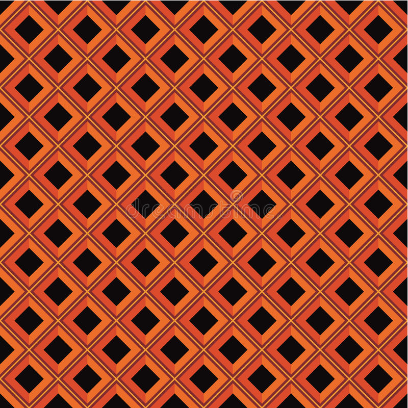 Geometric pattern - rhombus vector illustration