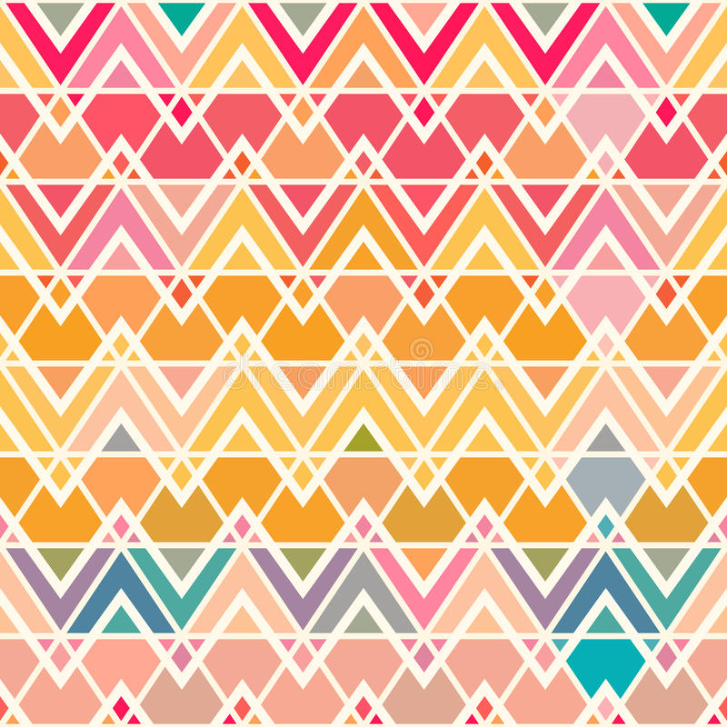Free Colorful Geometric Wallpaper: Geometric Pattern With Saturated Colorful Triangles. Stock