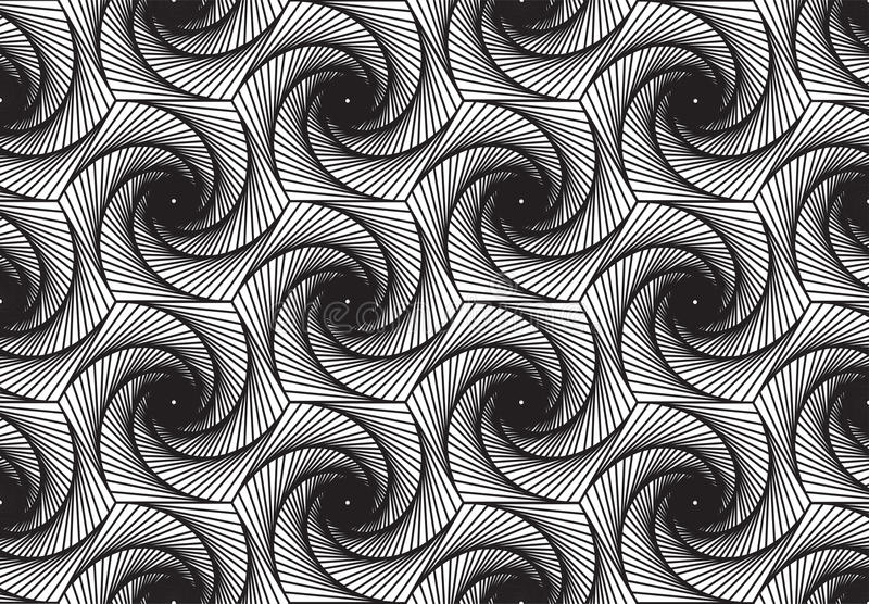 Geometric pattern with straight lines. Illustrator stock illustration